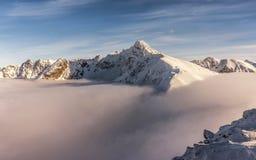 Зима в горах Tatra Стоковое Изображение