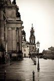 Зима в Дрезден Стоковое Фото