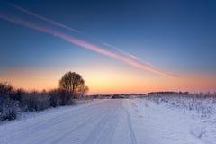 Зима в европе Стоковое фото RF