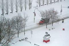 Зима в Монреале стоковые изображения rf