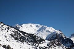Зима в Пиренеи стоковая фотография