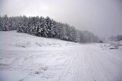 Зима в Сербии Zlatibor 2017 Стоковая Фотография RF