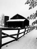 Зима в стране Стоковое Изображение