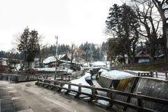 Зима в Японии Стоковые Изображения