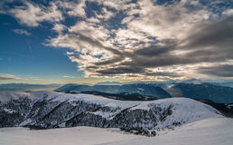 Зима в alps Стоковая Фотография RF