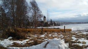 Зима в Darlana стоковые изображения