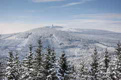 Зима в Harz стоковое фото rf