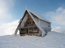 Зима в Ukrainian Keningsfield Стоковое фото RF