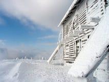 Зима в Ukrainian Keningsfield Стоковые Изображения RF