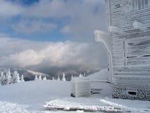 Зима в Ukrainian Keningsfield Стоковое Изображение