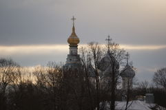 Зима в Vologda Стоковые Изображения RF