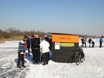 зима Голландии Стоковые Фото