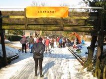 зима Голландии Стоковое Изображение RF