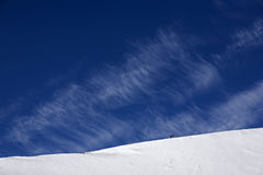 зима голубого неба Стоковые Фото