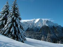 зима гористых местностей Стоковое фото RF