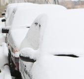 зима города Стоковые Фото