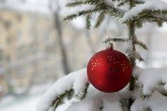 зима городка Стоковое фото RF