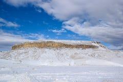 Зима горы Стоковое Изображение
