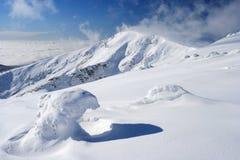 зима гор дня гигантская Стоковая Фотография RF