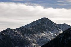 зима гор доломитов Стоковое фото RF