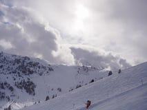 зима гор ландшафта Болгарии bansko стоковые изображения