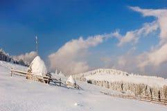 зима гор ландшафта Стоковая Фотография RF