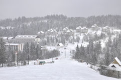 зима гор Стоковые Изображения