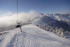 зима гор Стоковое Фото