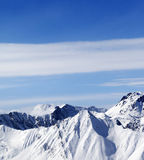 зима гор gudauri caucasus Georgia Стоковое Фото