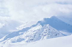 зима гор gudauri caucasus Georgia Стоковое Изображение