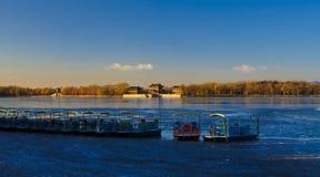 Зима дворца лета Стоковая Фотография RF