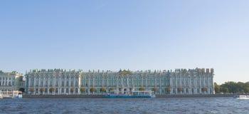 зима дворца музея обители Стоковое Изображение