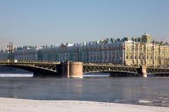 зима дворца Стоковое Изображение RF
