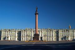 зима дворца стоковое изображение