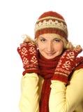 зима девушки одежды Стоковая Фотография RF