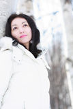 зима девушки Стоковые Изображения