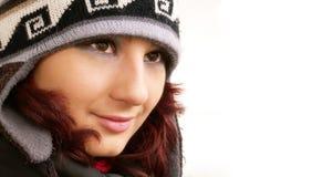 зима девушки Стоковое Изображение RF