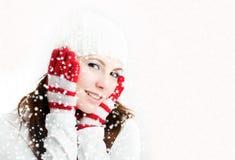 зима девушки стоковые изображения rf