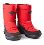 зима детей ботинка Стоковое фото RF