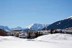 зима дома праздника Стоковые Фотографии RF