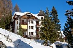 зима дома праздника davos Стоковое Изображение