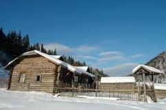 зима дома Стоковое Фото