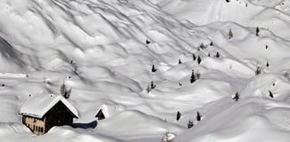 зима дома Стоковая Фотография RF