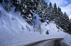 зима дорог Стоковые Изображения RF