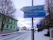 зима европы Стоковые Изображения