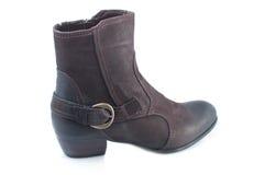 зима женщины ботинка стоковые изображения