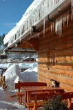 зима заморозка Стоковое Изображение RF