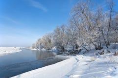 Зима, зим-прилив, зима Стоковые Изображения