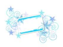 зима знамени Стоковая Фотография RF