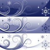 зима знамен бесплатная иллюстрация